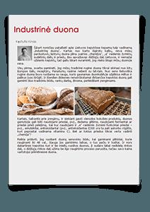 Industrinė duona